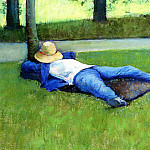 The Nap – 1877, Gustave Caillebotte
