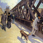 Gustave Caillebotte - The Pont du Europe - 1876