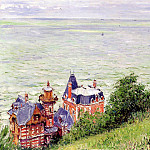 Gustave Caillebotte - Villas at Trouville - 1884