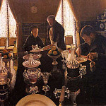 Luncheon – 1876, Gustave Caillebotte