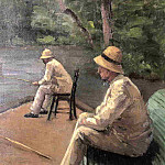 Gustave Caillebotte - Fishermen on the Banks of the Yerres - 1876