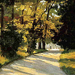 Yerres, Path Through the Woods in the Park, Gustave Caillebotte