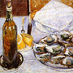 Still Life with Oysters – 1881, Gustave Caillebotte