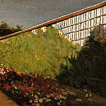 The Wall of the Kitchen Garden, Yerres – 1875 – 1877, Gustave Caillebotte