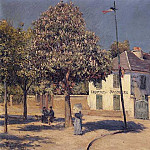 The Promenade at Argenteuil – 1883, Gustave Caillebotte