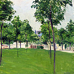 Гюстав Кайботт - Promenade at Argenteuil - 1883