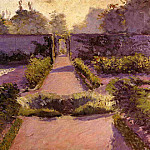The Kitchen Garden, Yerres – 1877, Gustave Caillebotte