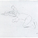 Гюстав Кайботт - The Floor Scrapers (study) - 1875
