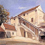 Meaux. Effect of Sunlight on the Old Chapterhouse, Gustave Caillebotte