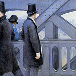 Gustave Caillebotte - The Pont de Europe - 1876-1877