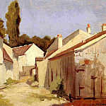 Yerres, Close of the Abbesses, Gustave Caillebotte