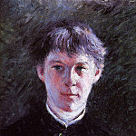 Portrait of a Schoolboy – 1879, Gustave Caillebotte