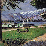 Laundry Drying – 1892, Gustave Caillebotte