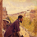 Гюстав Кайботт - The Man on the Balcony - 1880