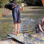 Bathers, Gustave Caillebotte