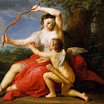 Diana and Cupid, Pompeo Girolamo Batoni