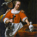 Metropolitan Museum: part 1 - Cornelis Bisschop - A Young Woman and a Cavalier
