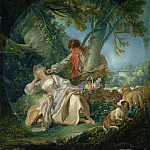 François Boucher – The Interrupted Sleep, Metropolitan Museum: part 1