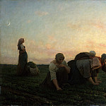 Metropolitan Museum: part 1 - Jules Breton - The Weeders