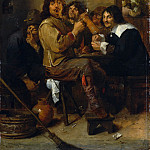 Metropolitan Museum: part 1 - Adriaen Brouwer - The Smokers