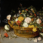 Metropolitan Museum: part 1 - Jan Brueghel the Younger - A Basket of Flowers