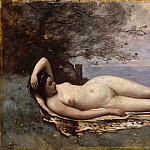 Metropolitan Museum: part 1 - Camille Corot - Bacchante by the Sea