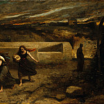 Camille Corot - The Burning of Sodom , Metropolitan Museum: part 1