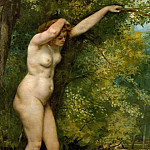 The Young Bather, Gustave Courbet
