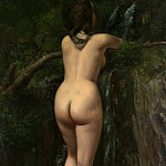 Metropolitan Museum: part 1 - Gustave Courbet - The Source