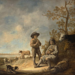 Metropolitan Museum: part 1 - Aelbert Cuyp - Piping Shepherds