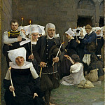 The Pardon in Brittany, Pascal-Adolphe-Jean Dagnan-Bouveret