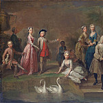 Metropolitan Museum: part 1 - Bartholomew Dandridge - Uvedale Tomkyns Price (1685–1764) and Members of His Family