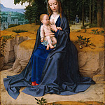 Gerard David - The Rest on the Flight into Egypt, Metropolitan Museum: part 1