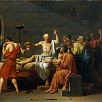 Metropolitan Museum: part 1 - Jacques-Louis David - The Death of Socrates