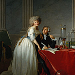 Metropolitan Museum: part 1 - Jacques-Louis David - Antoine-Laurent Lavoisier (1743–1794) and His Wife (Marie-Anne-Pierrette Paulze, 1758–1836)