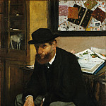 The Collector of Prints, Edgar Degas