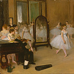 The Dancing Class, Edgar Degas