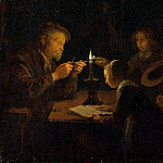 Metropolitan Museum: part 1 - Gerrit Dou - An Evening School