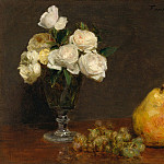 Metropolitan Museum: part 1 - Henri Fantin-Latour - Still Life with Roses and Fruit