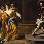 Esther before Ahasuerus, Artemisia Gentileschi