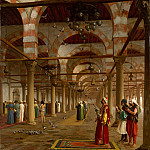 Metropolitan Museum: part 1 - Jean-Léon Gérôme - Prayer in the Mosque