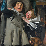 Metropolitan Museum: part 1 - Frans Hals - Young Man and Woman in an Inn (Yonker Ramp and His Sweetheart)