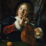 Metropolitan Museum: part 1 - Frans Hals - Boy with a Lute