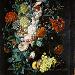 Metropolitan Museum: part 1 - Margareta Haverman - A Vase of Flowers