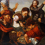 Metropolitan Museum: part 1 - Workshop of Jan Sanders van Hemessen - The Calling of Matthew