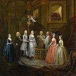 Metropolitan Museum: part 1 - William Hogarth - The Wedding of Stephen Beckingham and Mary Cox