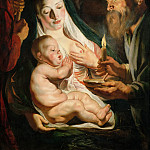 The Holy Family with Shepherds, Jacob Jordaens