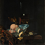 Metropolitan Museum: part 1 - Willem Kalf - Still Life with Fruit, Glassware, and a Wanli Bowl