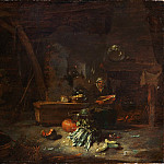 Willem Kalf – Interior of a Kitchen, Metropolitan Museum: part 1