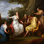 Metropolitan Museum: part 1 - Angelika Kauffmann - The Sorrow of Telemachus